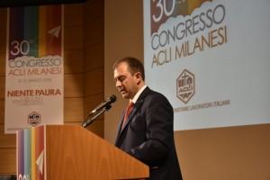 il presidente delle Acli Milanesi, Paolo Petracca