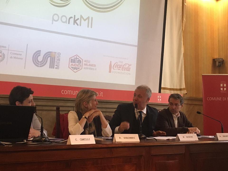 La conferenza stampa di presentazione del Progetto ParkMi